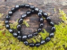 Zwarte Toermalijn - Armband