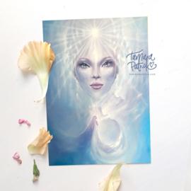 Her Innering - Postkaart