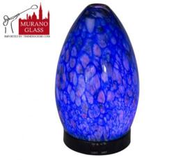 Diffuser - Muranoglas blauw