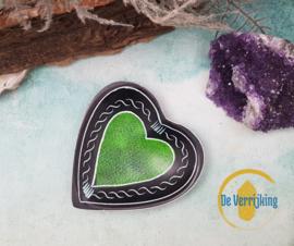Mini hart schaaltje - Groen