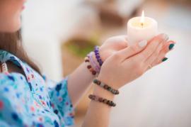 Ritueel met Kaarsen
