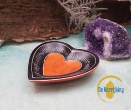 Mini hart schaaltje - Oranje