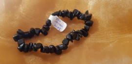 Zwarte Obsidiaan - Armband tiener