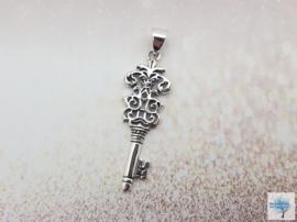 Sleutel tot Kennis - Sterling Zilveren hanger