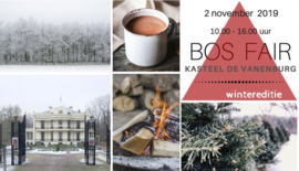 2 november Bosfair - Kasteel Vanenburg