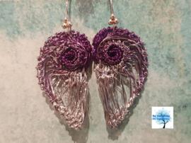 Earwings - Miss Purple