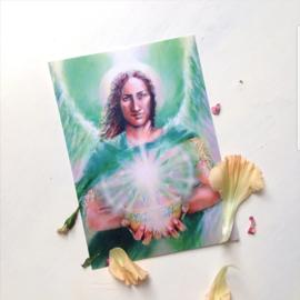 Aartsengel Raphaël - postkaart