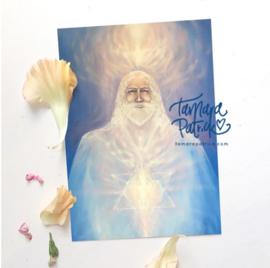 Meesterschap in jezelf Melchizedek - Postkaart