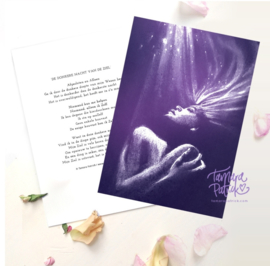 Donkere nacht van de ziel - Postkaart