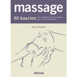 Massage - 50 kaarten met ontspannende technieken