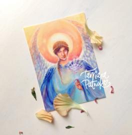 Aartsengel Gabriël - Postkaart