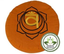 Meditatiekussen - Oranje