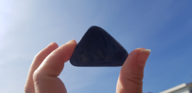 Zwarte Obsidiaan - plak