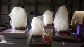 Witte Himalaya Zoutlamp 2-4kg