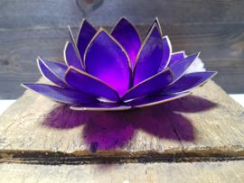 Lotusbloem Violet - Kruinchakra