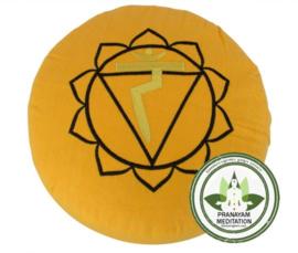 Meditatiekussen - Geel