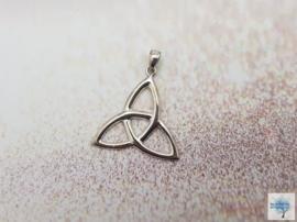 Keltische Triquetra Knoop - Sterling Zilveren hanger