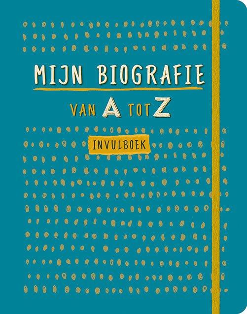 Mijn biografie van A tot Z invulboek