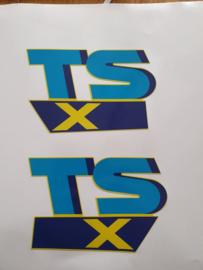 stickerset suzuki tsx50 geel