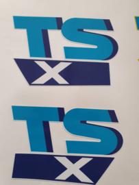 stickerset suzuki tsx50 wit