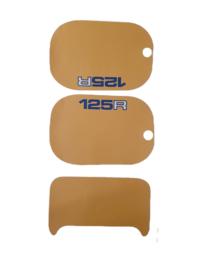 mtx 125 kappenset sticker geel
