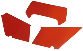 stickers set kappen mt 84-87 rood