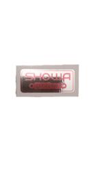 showa sticker voor op de voorpoten