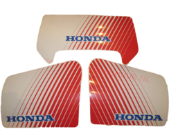 kap sticker honda wit rood