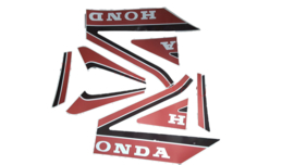 stickerset honda mb wit rood