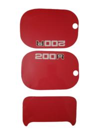 mtx 200 kappenset sticker rood
