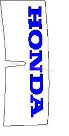 kontsticker honda nsr 50 eerste type blauw