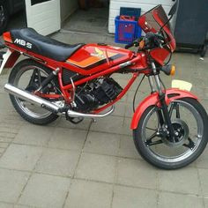 stickerset honda mb rood model 1984