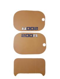 mtx 200 kappenset sticker geel
