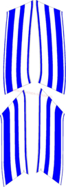 kap sticker nsr 50 blauw