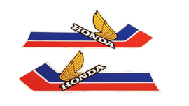 tank sticker set honda mt type 1984