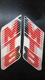 honda mt8 sticker