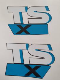 stickerset suzuki tsx50 zwart