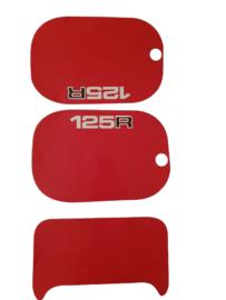 mtx 125 kappenset sticker rood