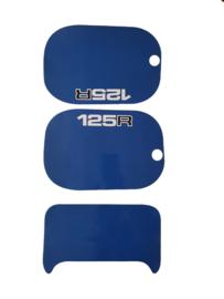mtx 125 kappenset sticker blauw