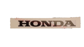 kont sticker honda mb wit