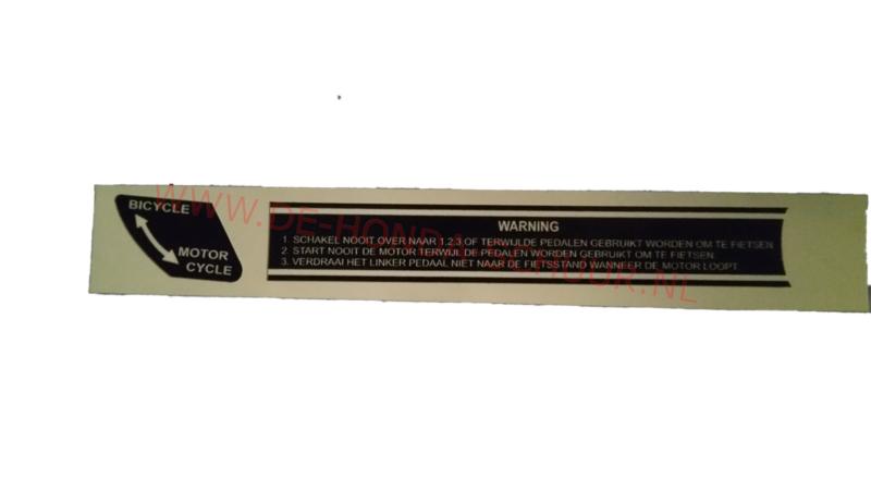 trapset sticker honda mt/mb