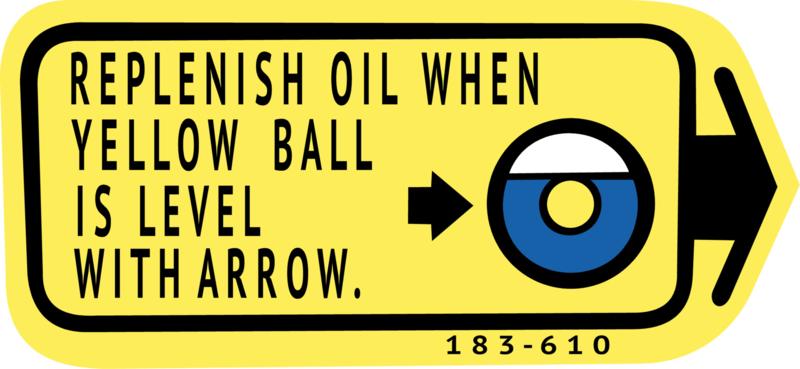 olie sticker honda mb