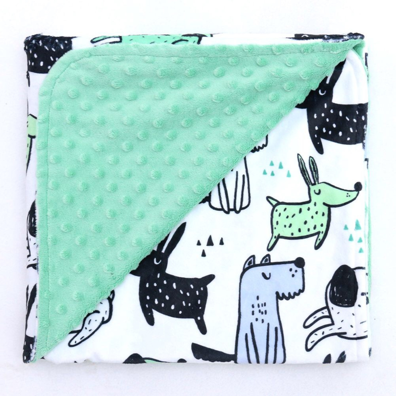 Minky deken