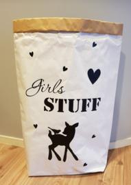 Paper bag GIRLS STUFF