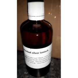 Colloïdaal zilverwater 10ppm, 100 ml