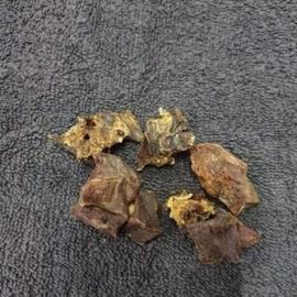 Struisvogel vleesbrokjes (puur vlees), 100 gram