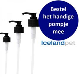 Icelandpet pompje 250 en 500 ml (zelfde lengte)