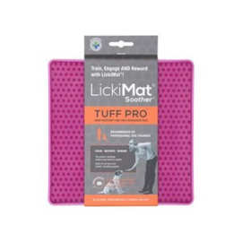 Lickimat Soother-Pro Tuff roze