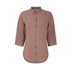Hailey 3/4 shirt printed eco viscosse