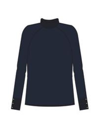 Nufenne pullover, donker blauw